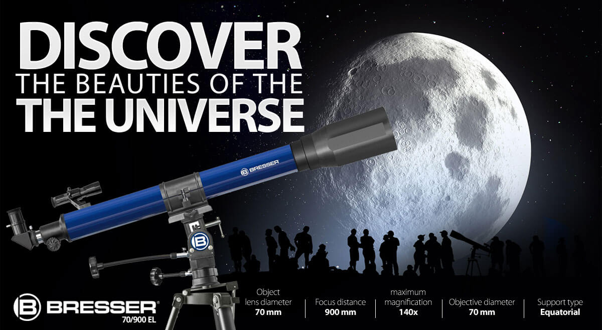 Bresser Refractor Telescope 70/900 EL
