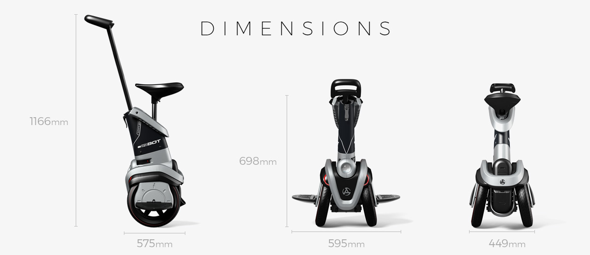 Airbike Probot Dimensions